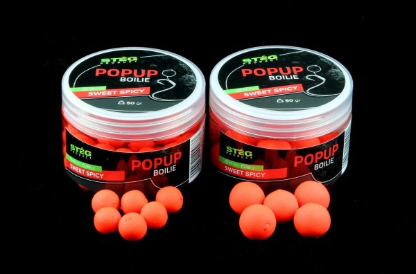 POP UP BOILIE 18 MM SWEET SPICY 50gr